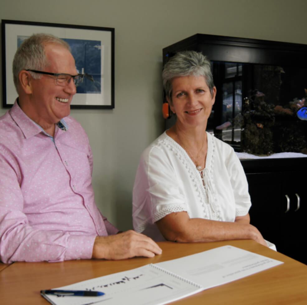 Alison & Richard Renfrew, Directors, Financial Advisers - Lyford Investment Management Ltd